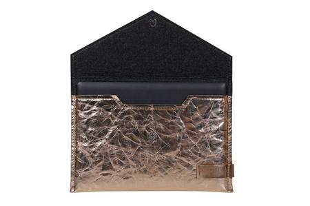 Teczka/Etui na notebooka( TE 9002)  różowe złoto